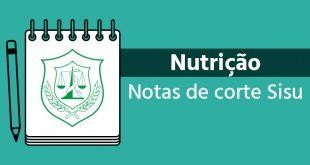 Notas de corte Sisu 2018 para Nutrição