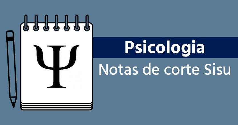 notas de corte de Psicologia