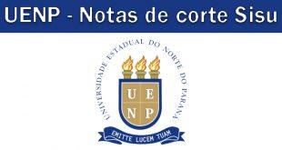 Notas de corte Sisu 2018 na UENP