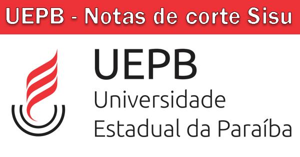 Notas de corte Sisu 2019 na UEPB