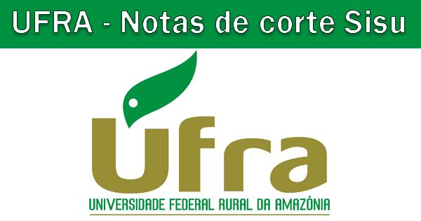 Notas de corte Sisu 2019 na UFRA