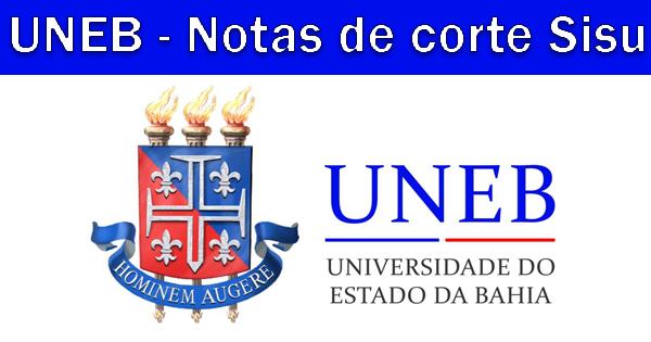 Notas de corte Sisu 2019 na UNEB