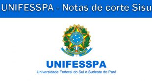 Notas de corte Sisu 2018 na UNIFESSPA
