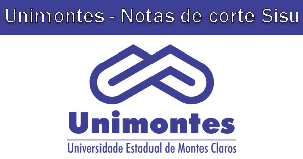 Notas de corte Sisu 2019 na Unimontes
