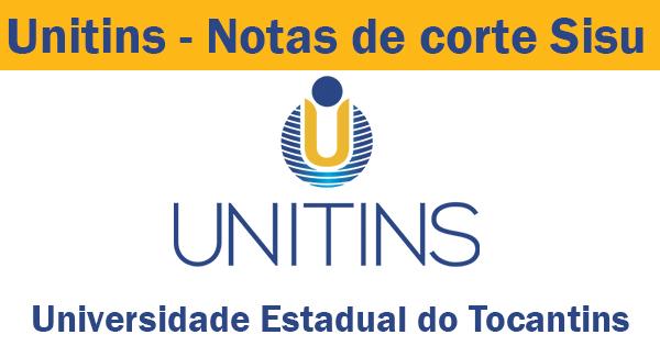 notas de corte sisu 2019 na unitins