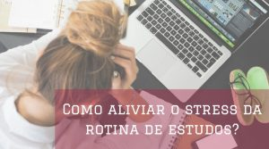 rotina de estudos