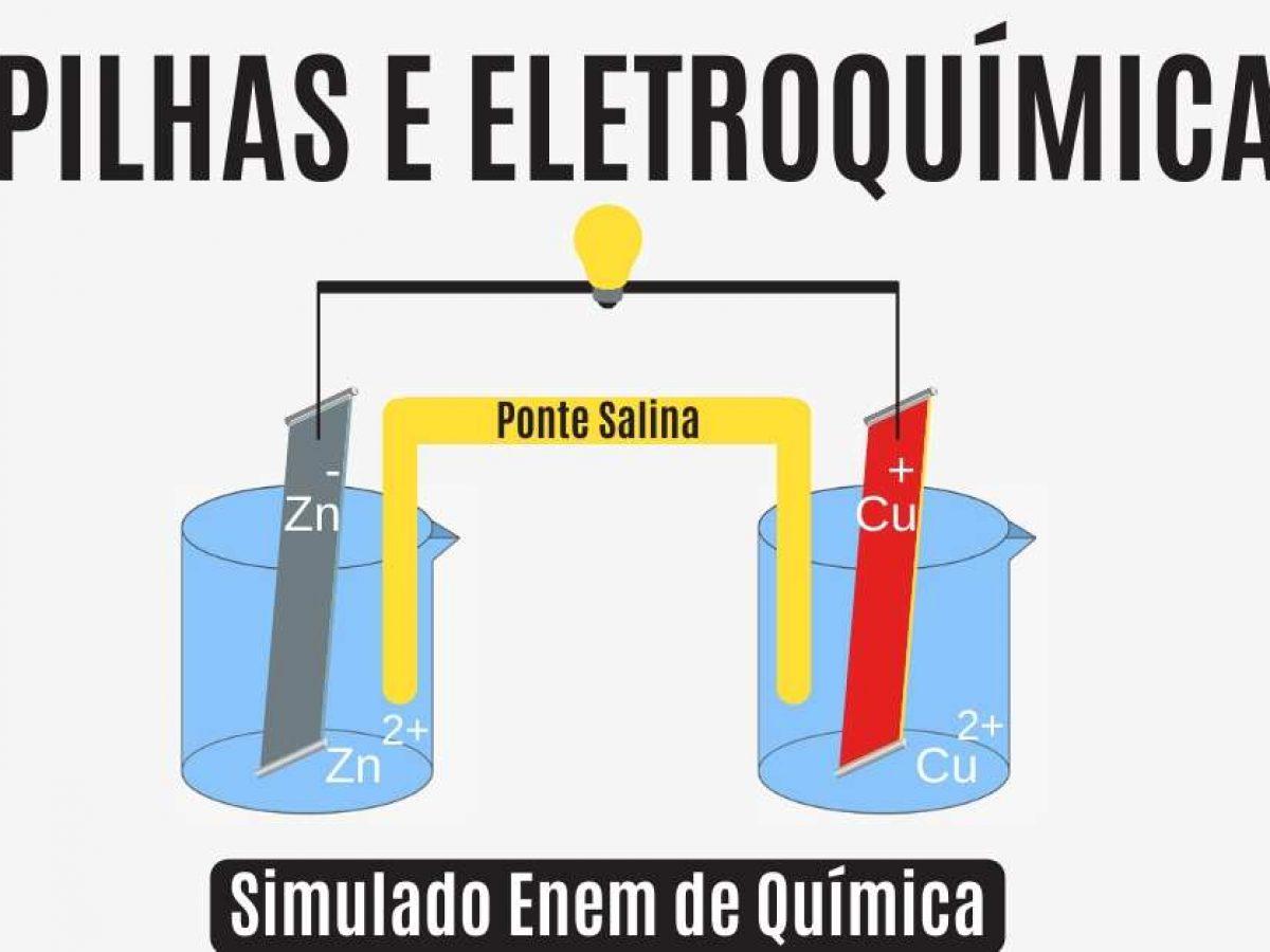 Eletroquimica Simulado Enem De Quimica Com 10 Questoes