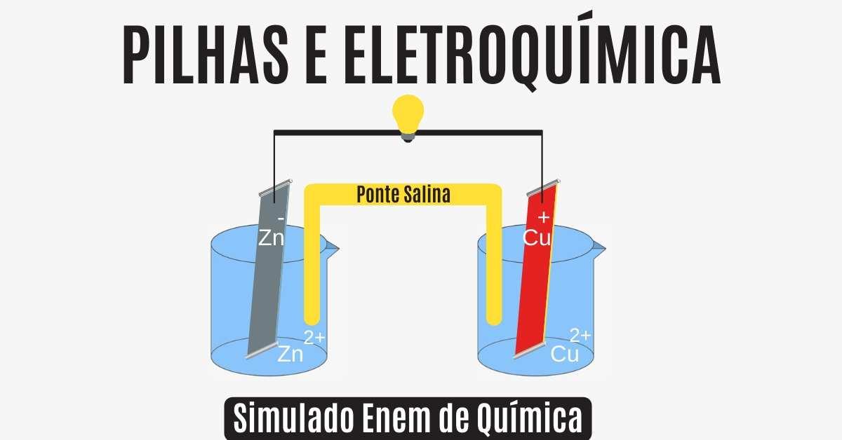 Simulado de eletroquímica