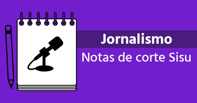 notas de corte de jornalismo
