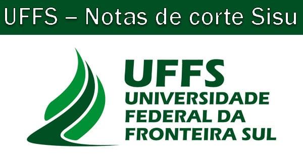 Notas de corte Sisu 2019 na UFFS