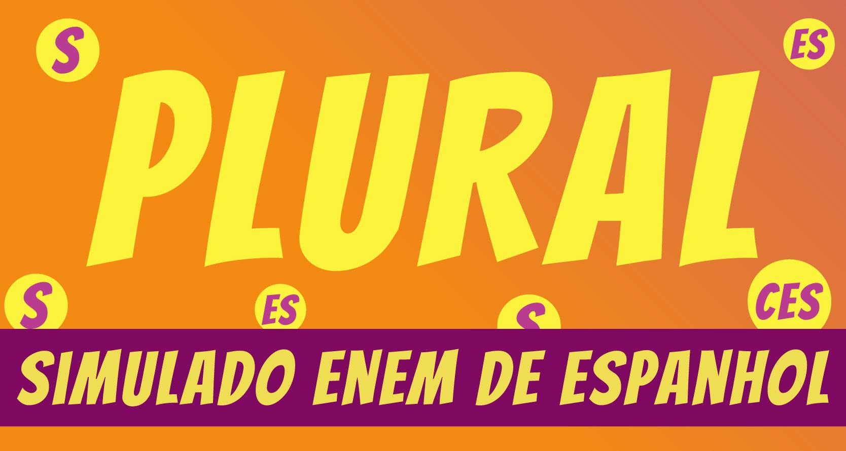 Simulado de Espanhol sobre plural