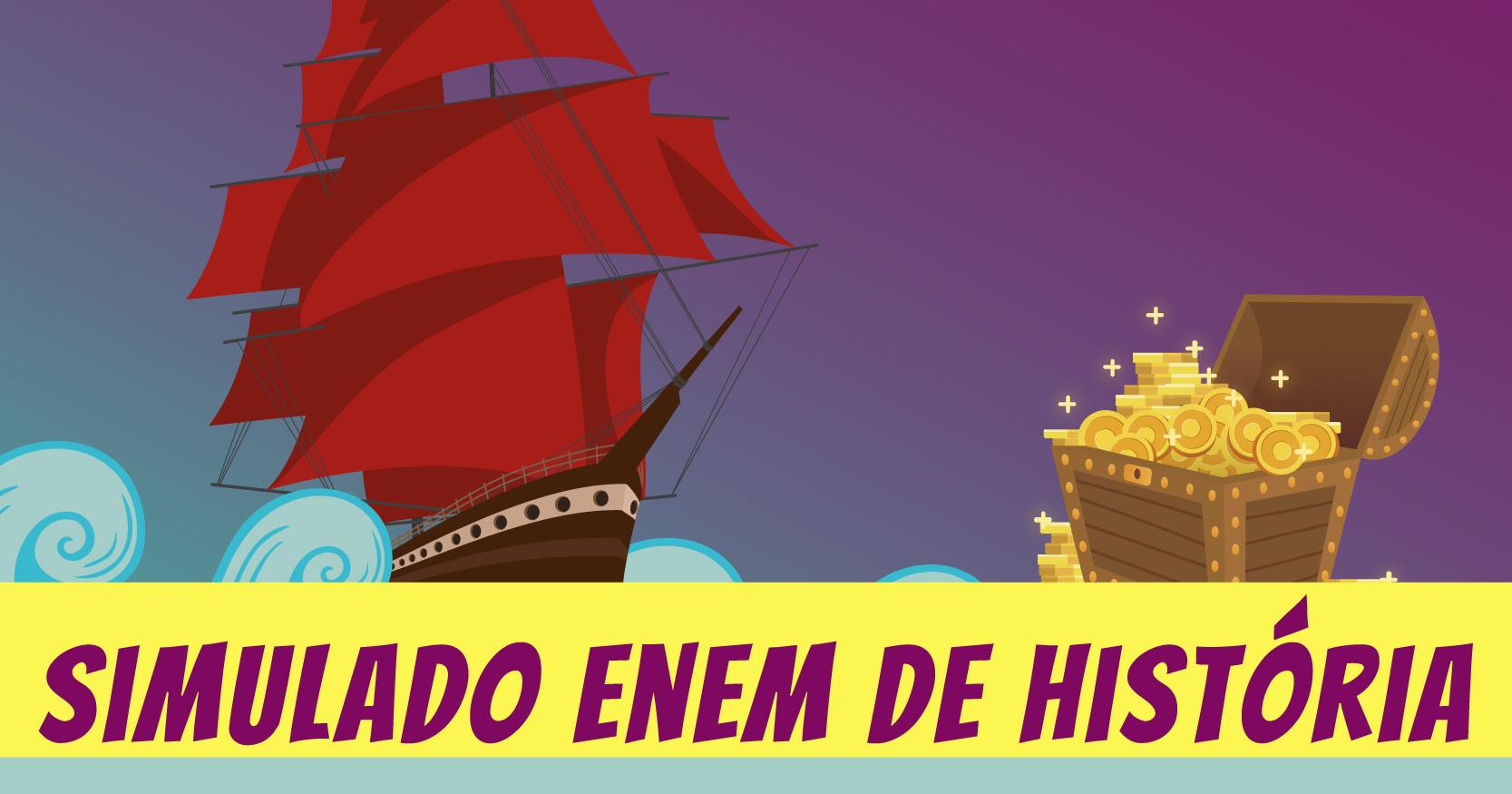 Simulado Enem de História sobre Mercantilismo