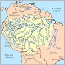 Bacias Hidrográficas Brasileiras - Veja a Bacia Amazônica