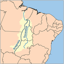 Bacia Hidrográfica Brasilziera do Araguaia-Tocantins