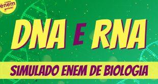 Simulado de DNA e RNA