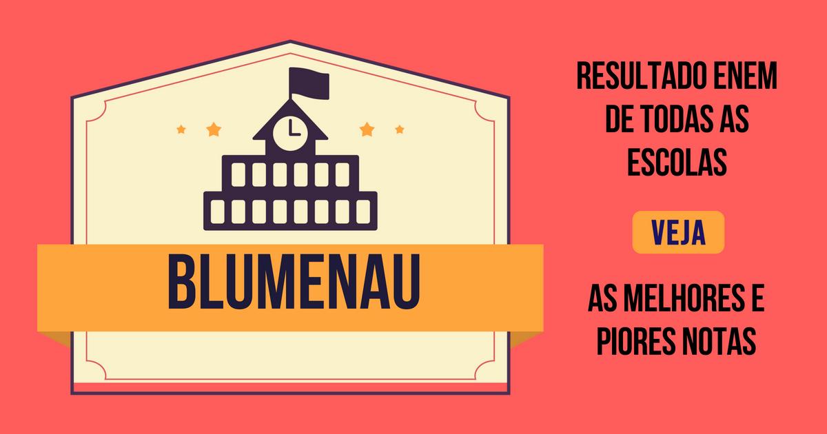 Resultado Enem Blumenau