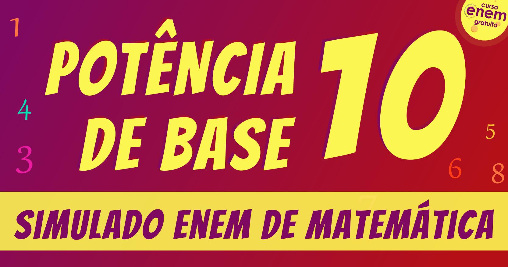 potência de base 10