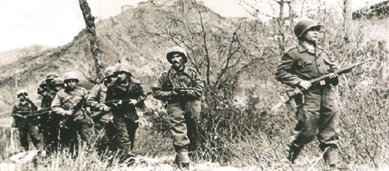 Soldados brasileiros na 2ª Guerra Mundial, na Itália