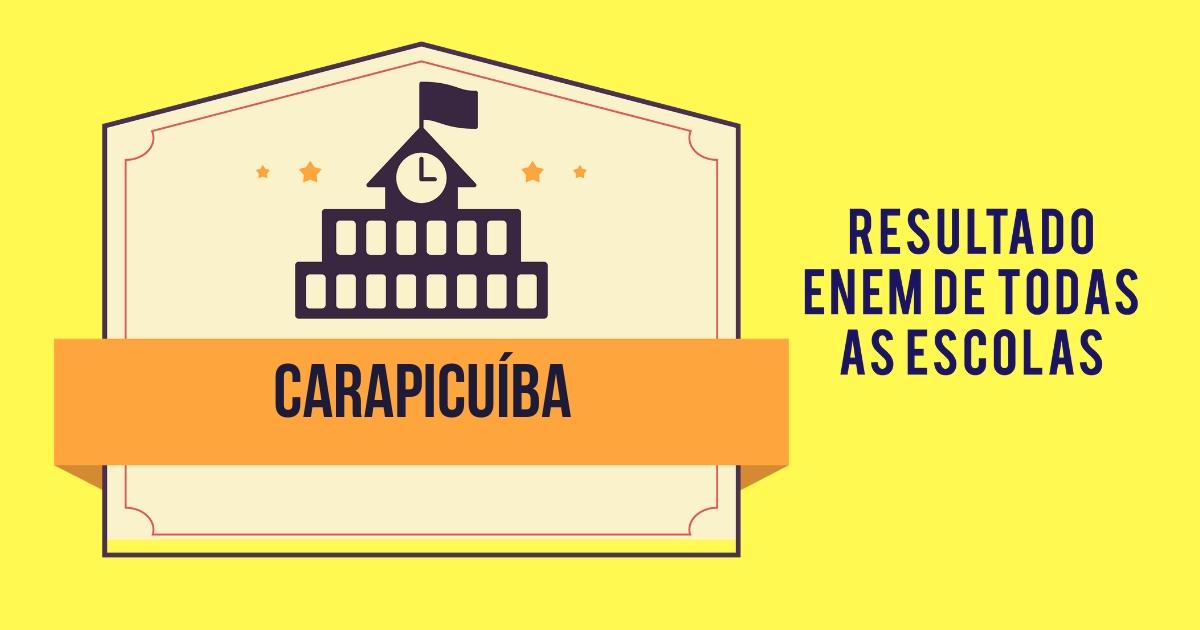 Resultado Enem Carapicuíba