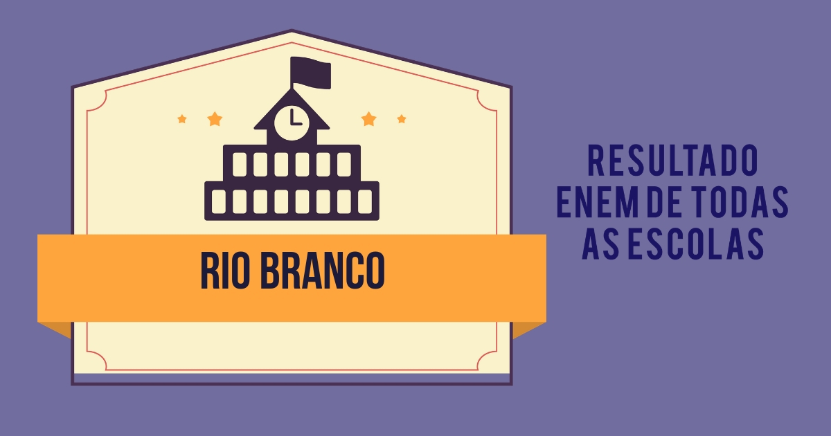 Resultado Enem Rio Branco