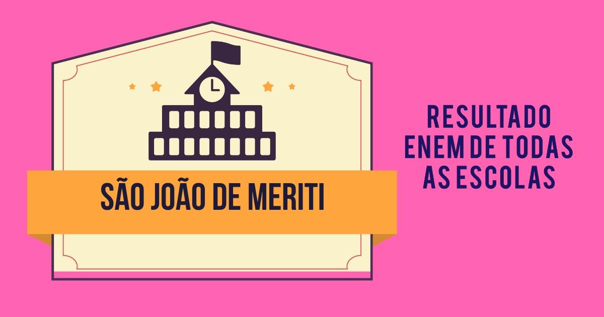 Resultado Enem São João de Meriti