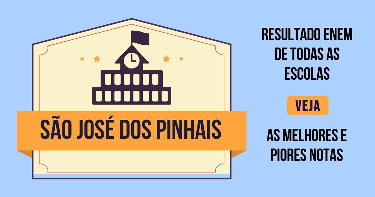 Resultado Enem São José dos Pinhais
