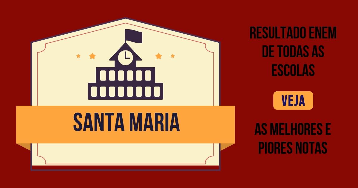 Resultado Enem Santa Maria