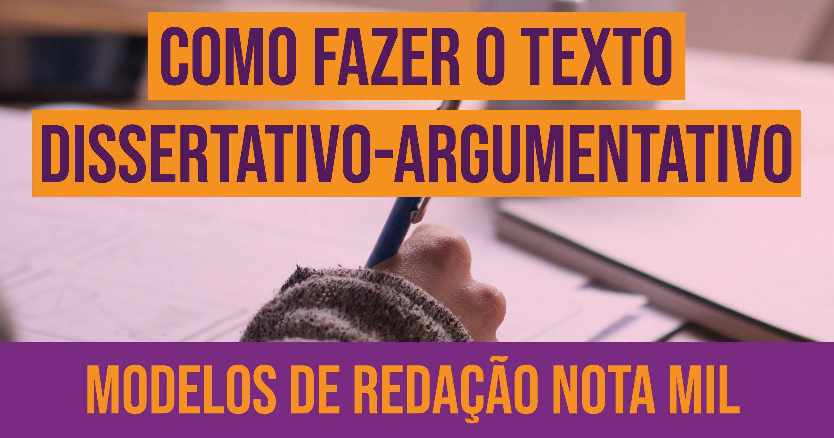 aula sobre texto dissertativo-argumentativo
