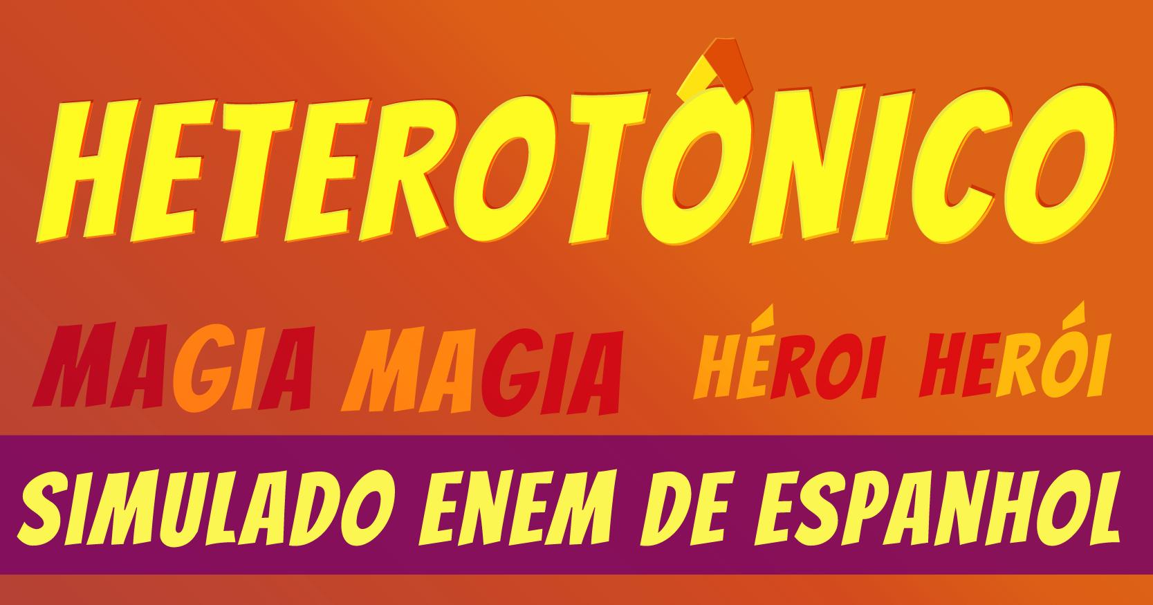 simulado de heterotonicos