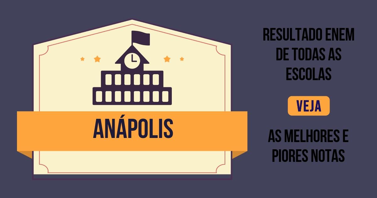 Resultado Enem Anápolis