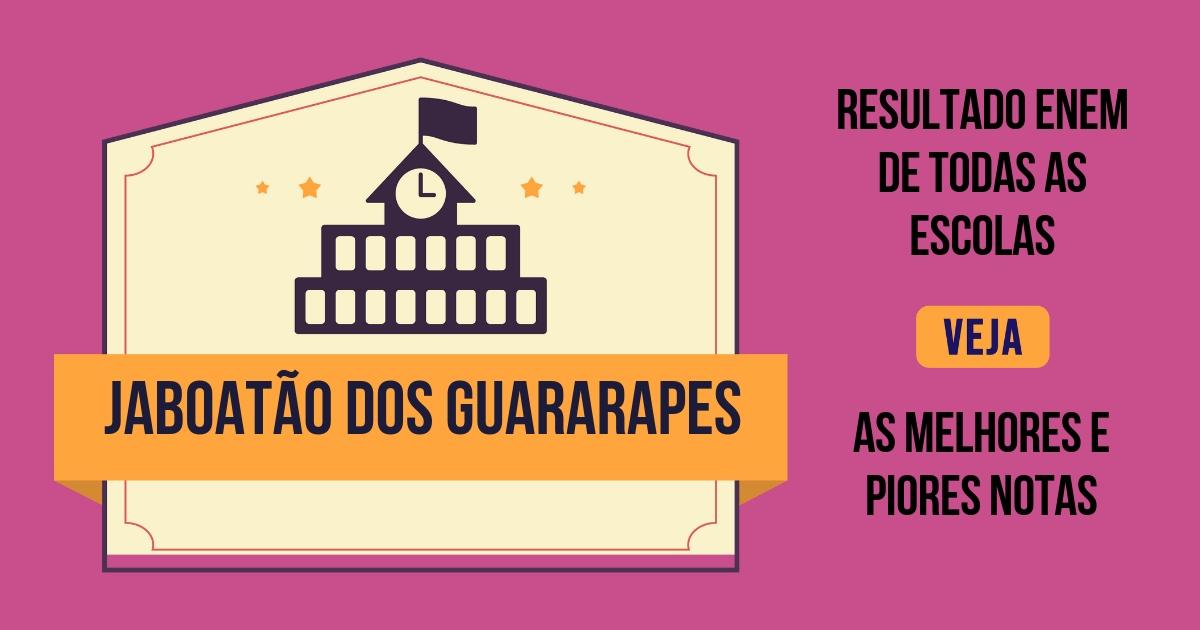 Resultado Enem Jaboatão dos Guararapes