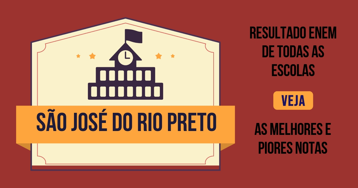 Resultado Enem São José do Rio Preto - ranking das escolas 02db311c6f