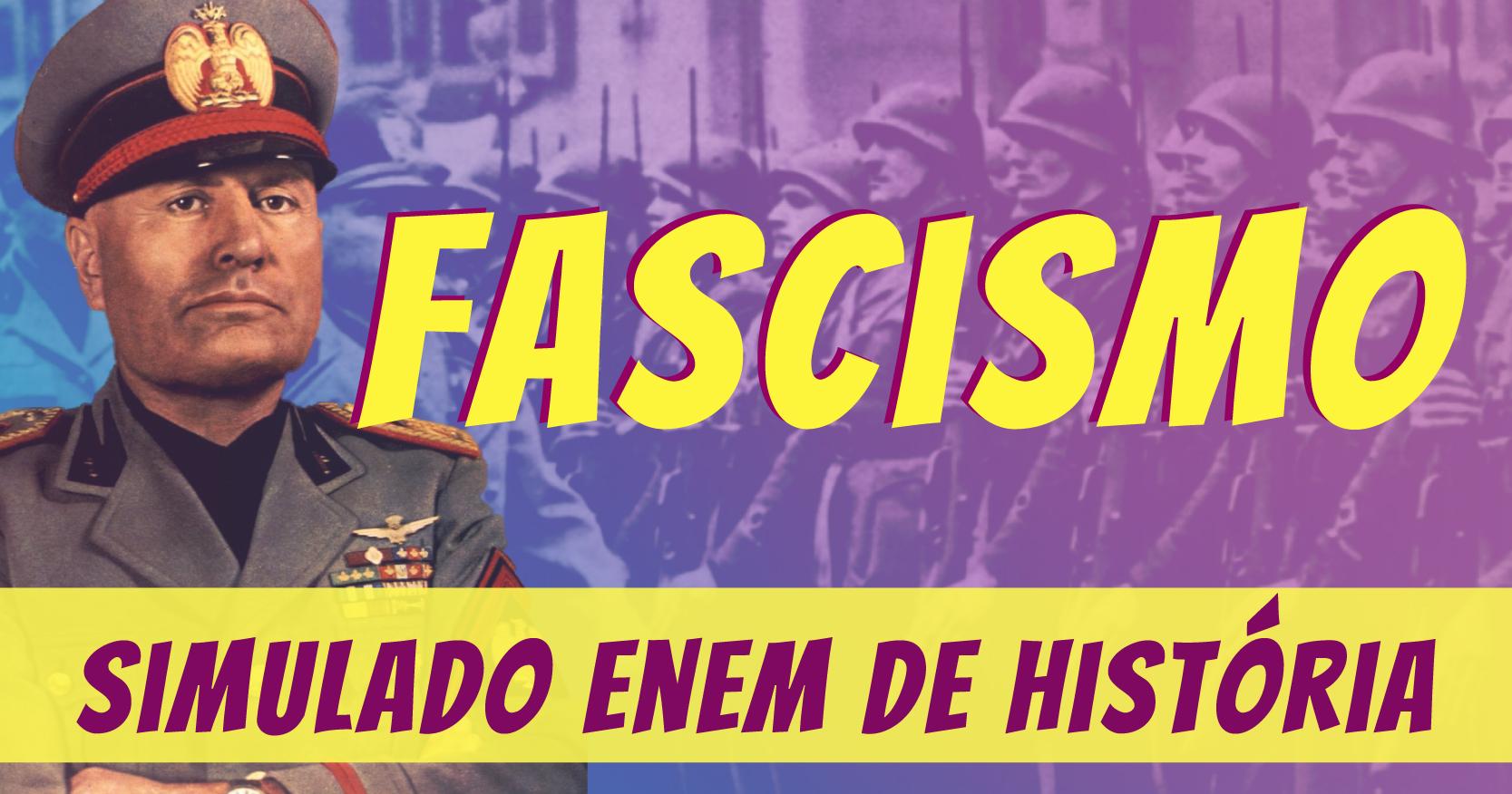 simulado de fascismo