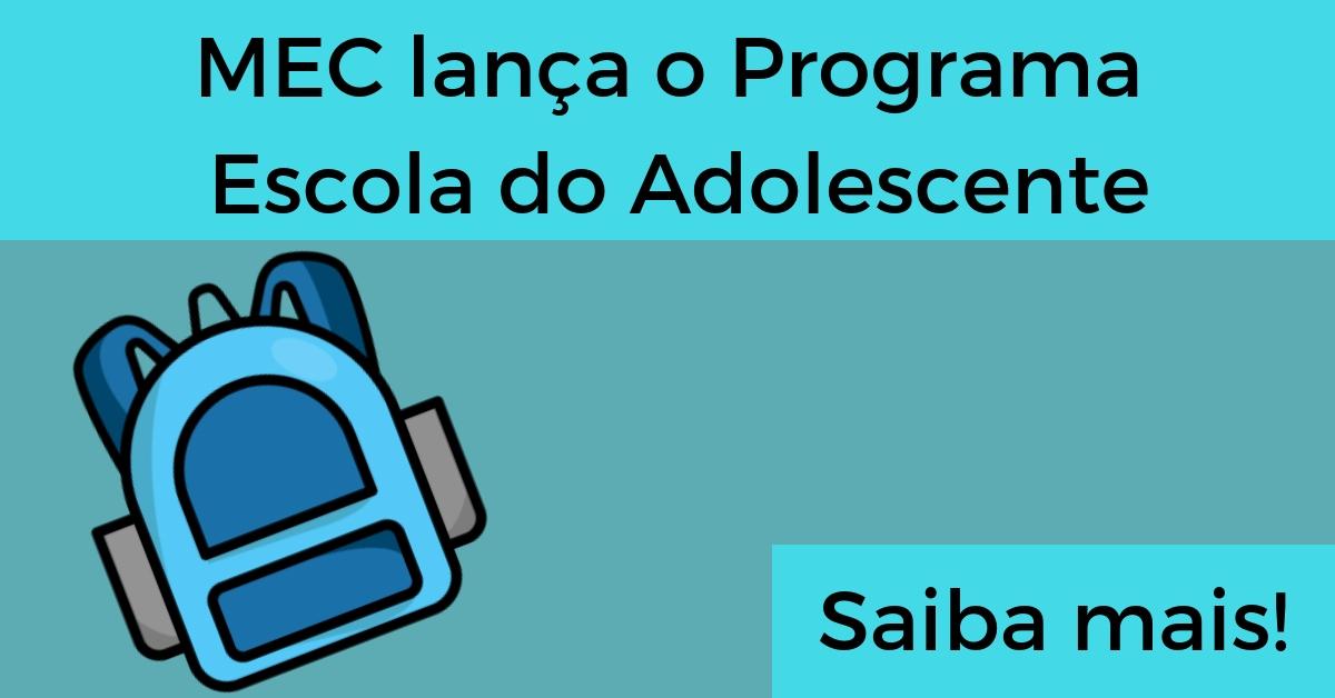 Programa Escola do Adolescente