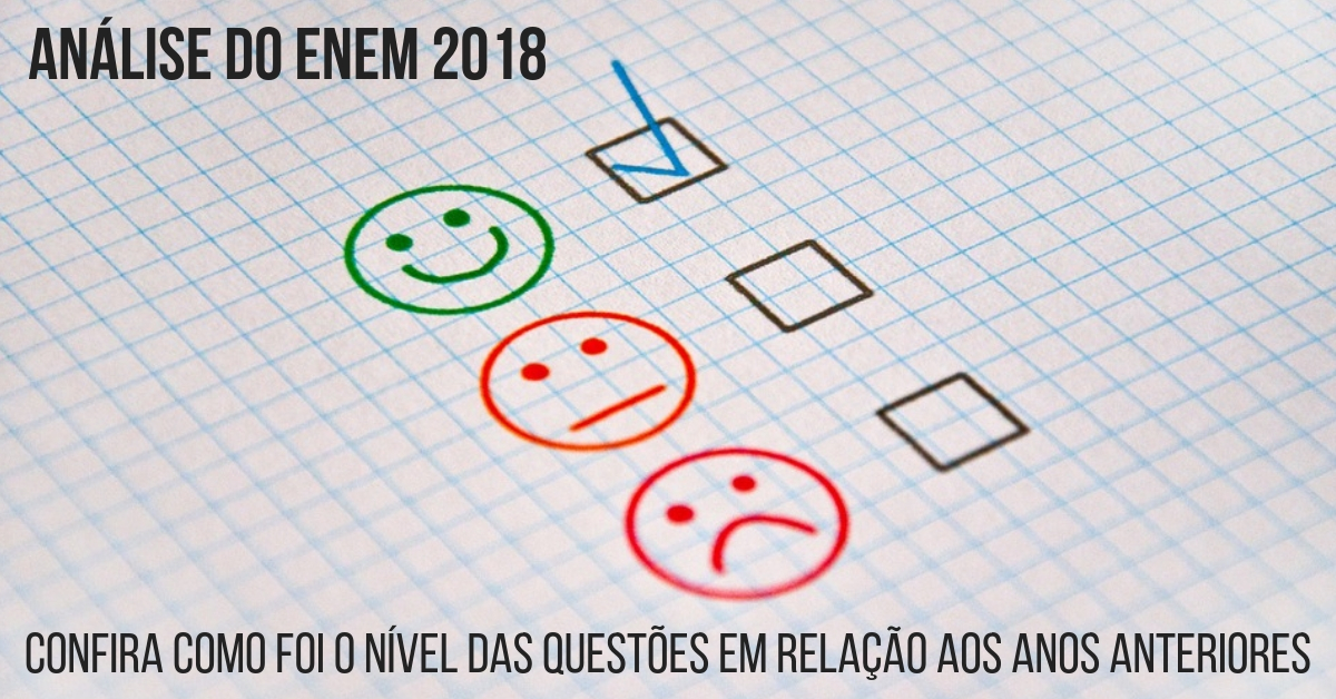 analise do enem 2018