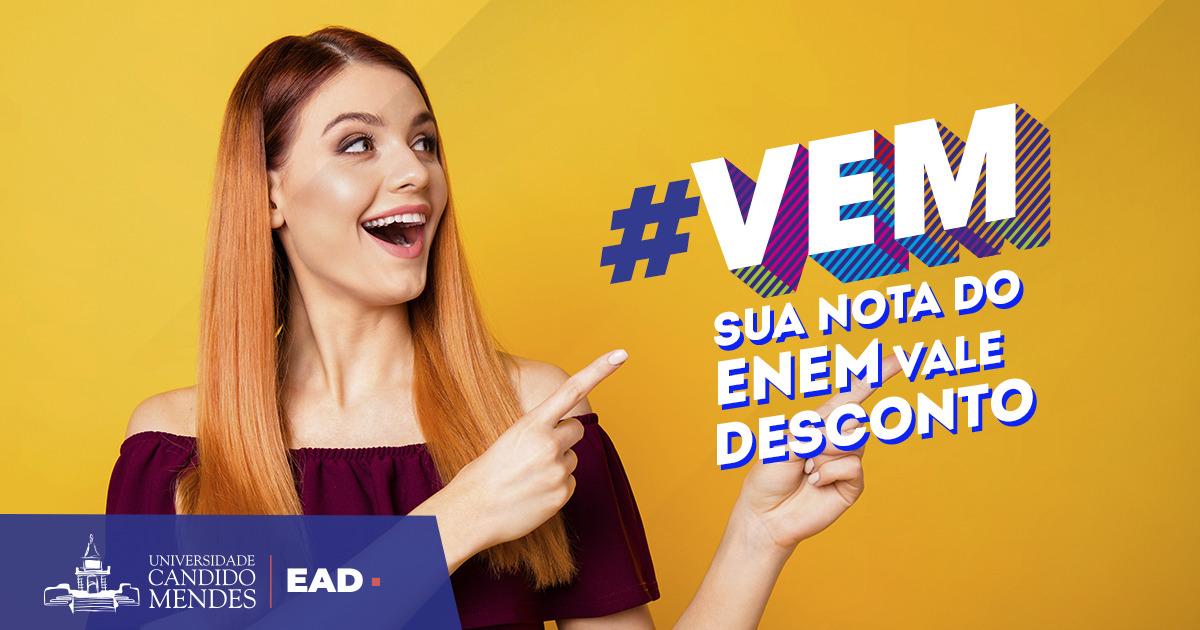 EAD agora é na Cândido Mendes