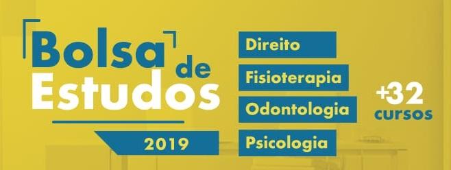 Bolsas de Estudo 2019