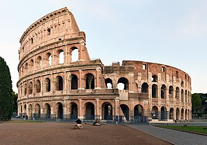 O Coliseu - Império Romano
