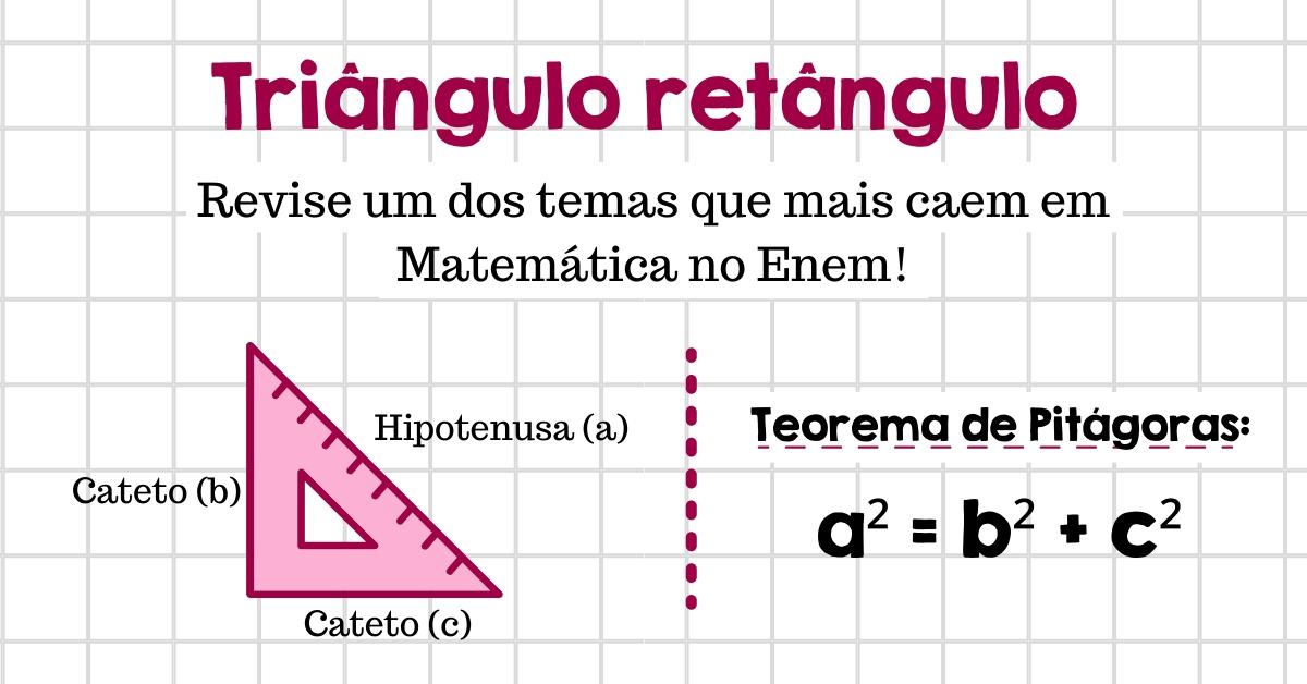 capa da aula de triângulo retângulo