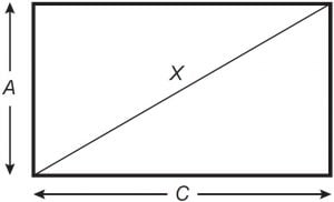 exercício triângulo retângulo Enem 2019