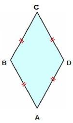Quadriláteros paralelogramos - Losângo
