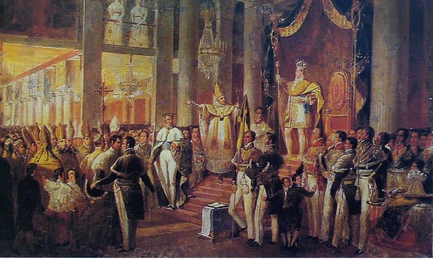 O Segundo Reinado - A coroação de Dom Pedro II
