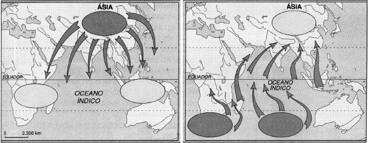Clima em regiões da Ásia