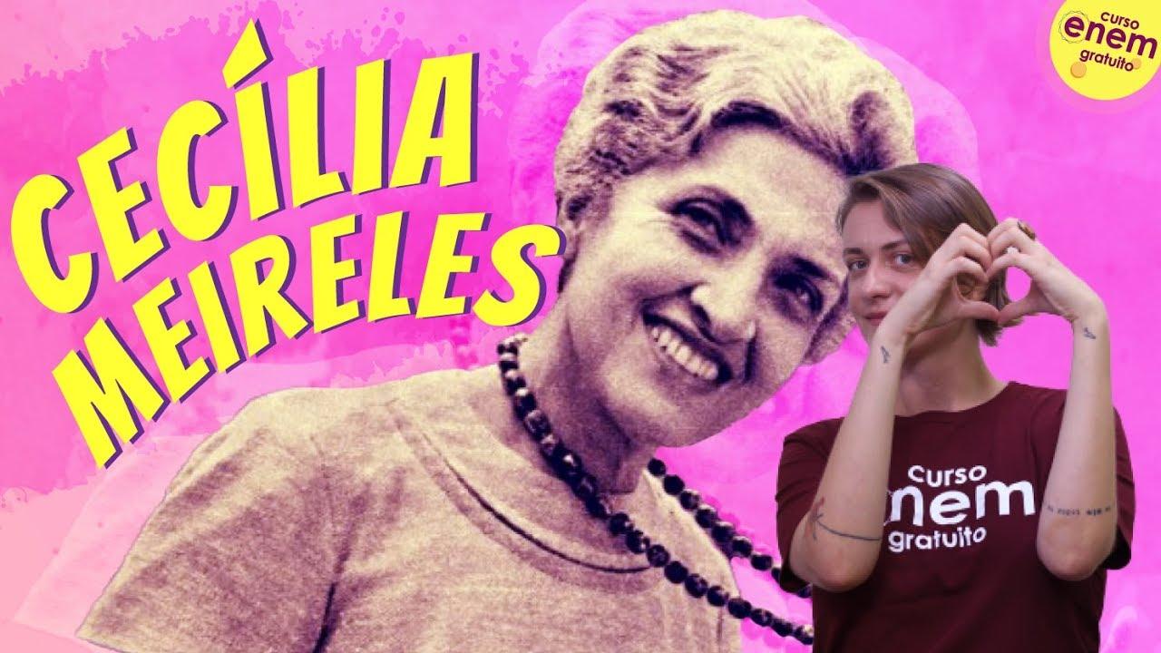 aula sobre Cecília Meireles
