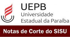 UEPB notas de corte sisu