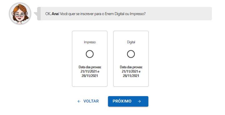 Enem impresso ou digital
