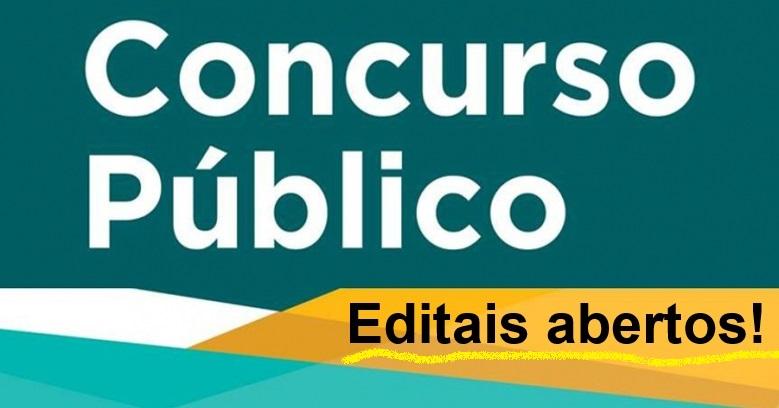 Concursos Públicos com editais abertos