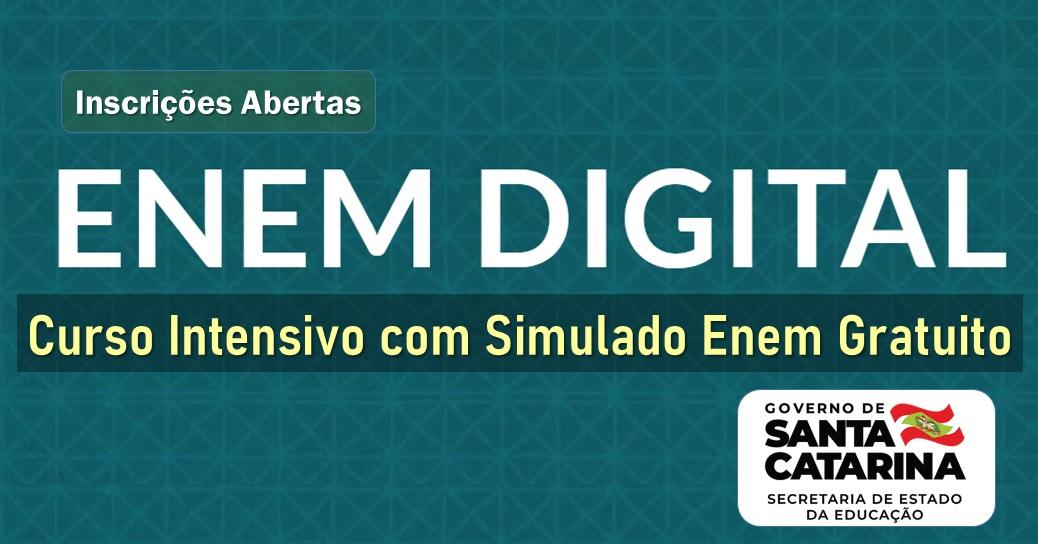 Intensivo Enem Digital de Santa Catarina