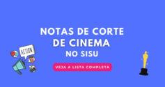 notas de corte de cinema