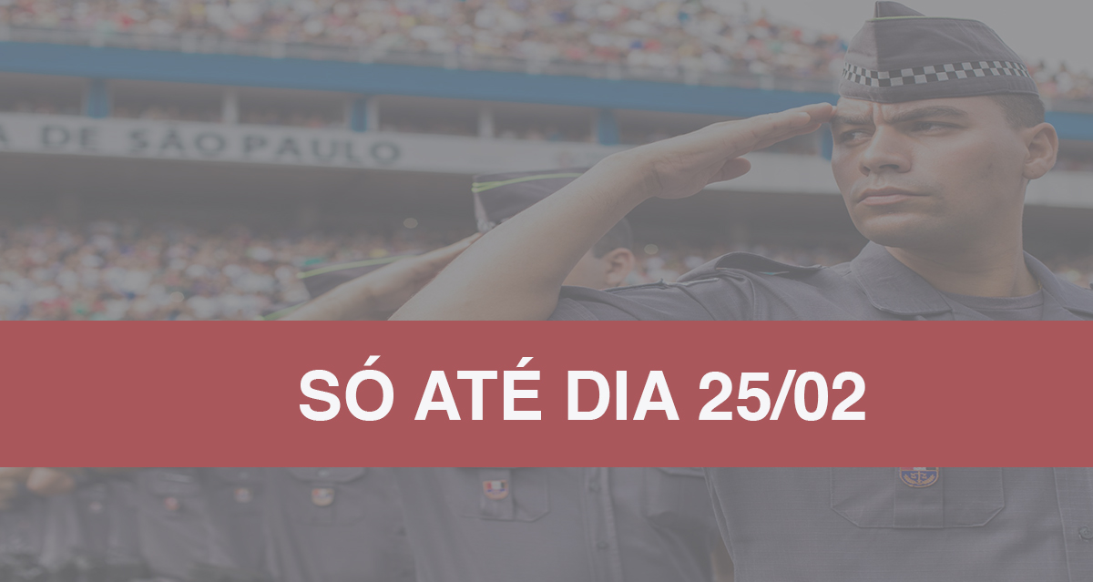 Concurso PM-SP: 2.700 vagas para Praça e salários até 3 mil